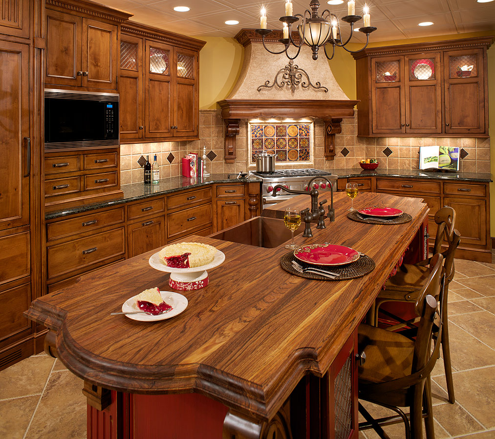 Tuscan kitchen style ideas home design and decor reviews for Inspired kitchen design