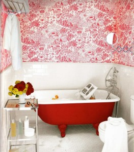 bathroom with personality