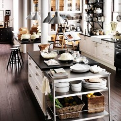 industrial home kitchen